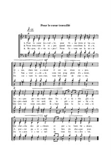 Pour le chœur travaillé: Pour le chœur travaillé by Людвиг ван Бетховен