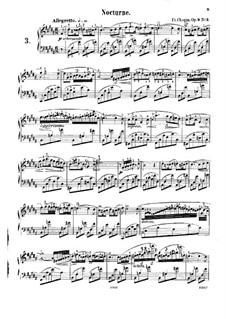 No.3 си мажор: Для фортепиано by Фредерик Шопен