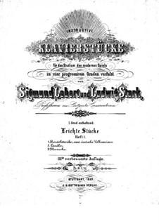 Instructive Klavierstücke. Heft I: Instructive Klavierstücke. Heft I by Людвиг Штарк, Зигмунд  Леберт