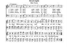 Good Night, Ladies: Для хора by Unknown (works before 1850)