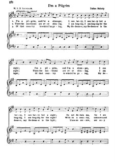 I'm a Pilgrim: Для голоса и фортепиано by folklore