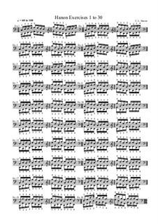Виртуозный пианис: Упражнения No.1-30 by Шарль Луи Ганон