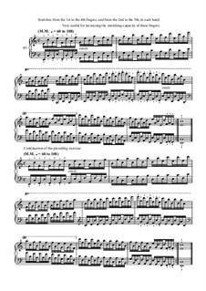 Виртуозный пианис: Упражнение No.49 by Шарль Луи Ганон