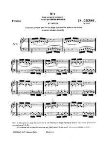 Ежедневные упражнения для пальцев, Op.802: Книга I by Карл Черни