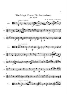 В страданьях дни мои проходят: Партия альта by Вольфганг Амадей Моцарт