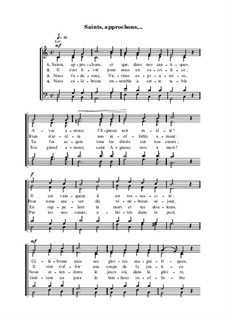Saints, approchons: Saints, approchons by Анри Малан
