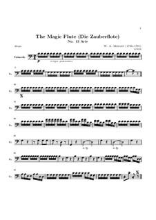 Каждый момент наслаждаться: Партия виолончели by Вольфганг Амадей Моцарт