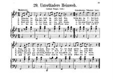 Unterländers Heimweh: Unterländers Heimweh by folklore