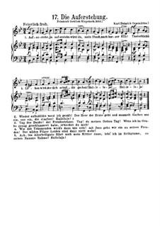 Die Auferstehung: Klavierauszug mit Singstimmen by Карл Генрих Граун