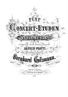 Пять концертных этюдов, Op.10: Пять концертных этюдов by Бернхард Коссман