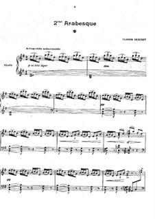 Две арабески, L.66: Арабеска No.2 by Клод Дебюсси