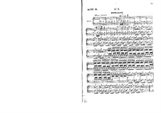 Бронзовая лошадь: Акт II, клавир с вокальной партией by Даниэль Обер