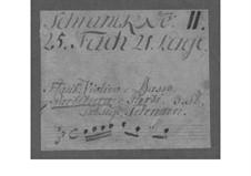 Трио-соната для скрипки, флейты и бассо континуо до минор, TWV 42:c1: Партии by Георг Филипп Телеманн