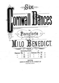 Six Cornwall Dances, Op.1: Dance No.6 by Milo Ellsworth Benedict
