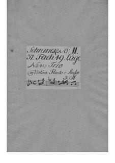 Трио-соната для альта, скрипки и бассо континуо, GraunWV C:XV:91: Трио-соната для альта, скрипки и бассо континуо by Иоганн Готлиб Граун
