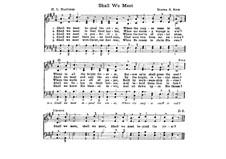 Shall We Meet: Shall We Meet by Elihu S. Rice
