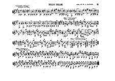 Dolly's Dreaming and Awakening, Op.202: Для гитары by Теодор Остен