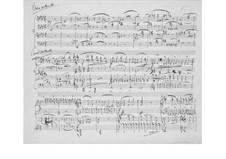 Соната для двух фортепиано в четыре руки фа минор, Op.34b: Часть IV by Иоганнес Брамс