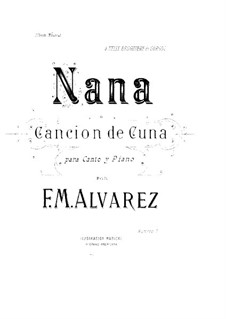 Nana: Nana by Фермин Мария Альварес