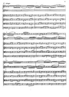 Концерт для скрипки, гобоя и струнных No.1 до минор, BWV 1060r: Часть II by Иоганн Себастьян Бах