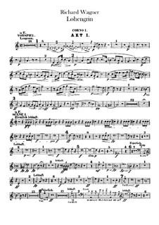 Вся опера: Партии валторн by Рихард Вагнер