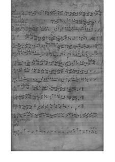 Трио-соната для скрипки, флейты (или скрипки II) и бассо континуо, TWV 42:D4: Партитура by Георг Филипп Телеманн