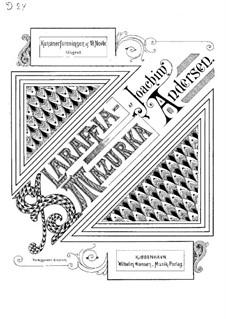 Slaraffia. Polka-Mazurka: Slaraffia. Polka-Mazurka by Иоахим Андерсен