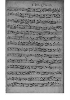 Концерт для скрипки и гобоя с оркестром фа мажор, TWV 52:F2: Концерт для скрипки и гобоя с оркестром фа мажор by Георг Филипп Телеманн