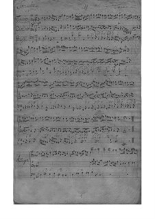 Трио-соната для скрипки, флейты и бассо континуо ми минор, TWV 42:e1: Партитура by Георг Филипп Телеманн