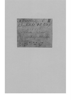 Трио-соната для скрипки, флейты и бассо континуо ми минор, TWV 42:e7: Трио-соната для скрипки, флейты и бассо континуо ми минор by Георг Филипп Телеманн