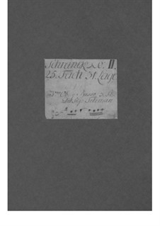 Трио-соната для двух скрипок и бассо континуо ми минор, TWV 42:e9: Трио-соната для двух скрипок и бассо континуо ми минор by Георг Филипп Телеманн