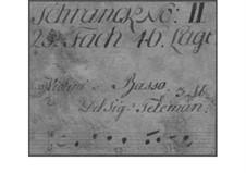 Трио-соната для двух скрипок и бассо континуо, TWV 42:G11: Трио-соната для двух скрипок и генерал-баса by Георг Филипп Телеманн
