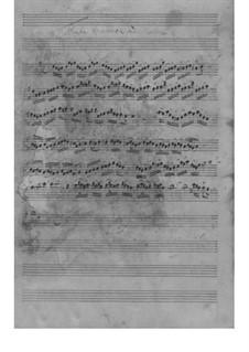 Трио-соната для двух скрипок (или двух флейт) и бассо континуо соль мажор, TWV 42:G3: Партии by Георг Филипп Телеманн