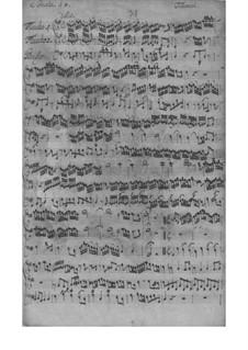 Трио-соната для двух скрипок (или двух флейт) и бассо континуо соль мажор, TWV 42:G3: Партитура by Георг Филипп Телеманн