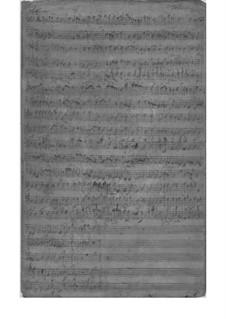 Квинтет для струнных и бассо континуо, TWV 44:11: Квинтет для струнных и бассо континуо by Георг Филипп Телеманн