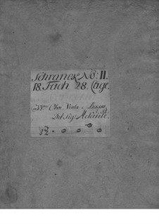 Концерт для гобоя, струнных и бассо континуо ре минор, TWV 51:d1: Партии by Георг Филипп Телеманн
