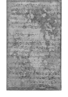 Сюита фа мажор, TWV 55:F12: Сюита фа мажор by Георг Филипп Телеманн