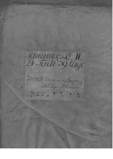 Сюита для скрипки с оркестром си минор, TWV 55:h1: Сюита для скрипки с оркестром си минор by Георг Филипп Телеманн