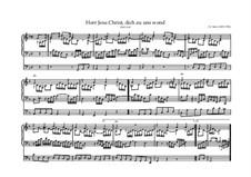 Herr Jesu Christ, dich zu uns wend, BWV 632: Herr Jesu Christ, dich zu uns wend by Иоганн Себастьян Бах