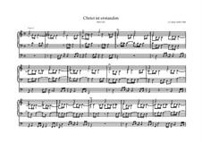 Christ ist erstanden, BWV 627: Christ ist erstanden by Иоганн Себастьян Бах