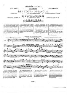 Полный метод игры на флейте: Часть III by Поль Таффанель, Филипп Гобер
