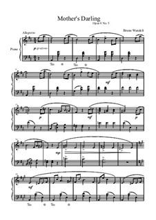 Musical Samples, Op.8: No.5 Mother's Darling by Bruno Wandelt