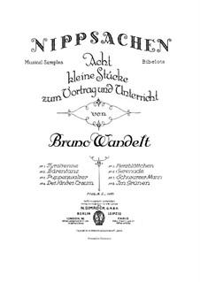 Musical Samples, Op.8: Сборник by Bruno Wandelt