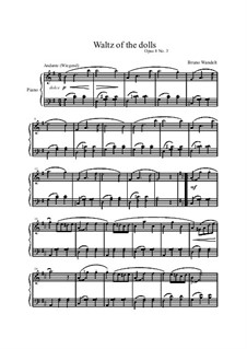 Musical Samples, Op.8: No.3 Dolly's Waltz by Bruno Wandelt