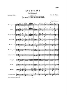 Экосез ре мажор, WoO 22: Экосез ре мажор by Людвиг ван Бетховен