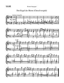 Der Engel des Herrn (Choralvorspiel): Der Engel des Herrn (Choralvorspiel) by Roman Jungegger