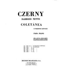 Шестьдесят небольших эскизов: Для фортепиано by Карл Черни