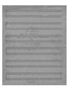 Старонорвежский романс с вариациями, Op.51: Для двух фортепиано в 4 руки by Эдвард Григ