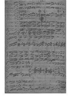 Концерт для скрипки с оркестром фа мажор, Fwv L:F 2: Концерт для скрипки с оркестром фа мажор by Иоганн Фридрих Фаш