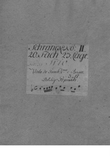 Трио-соната для скрипки, виолы да гамба и бассо континуо No.3: Трио-соната для скрипки, виолы да гамба и бассо континуо No.3 by Иоганн Кристоф Пепуш